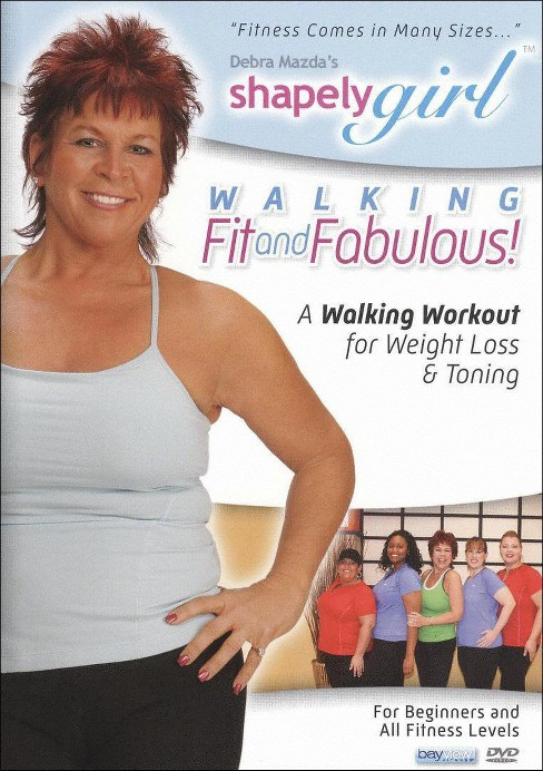 Shapely girl:Walking fit and fabulous (DVD) - image 1 of 1