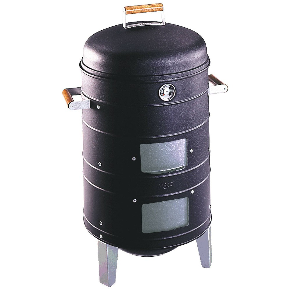 Image of Americana 5023 Charcoal Water Smoker - Meco, Black