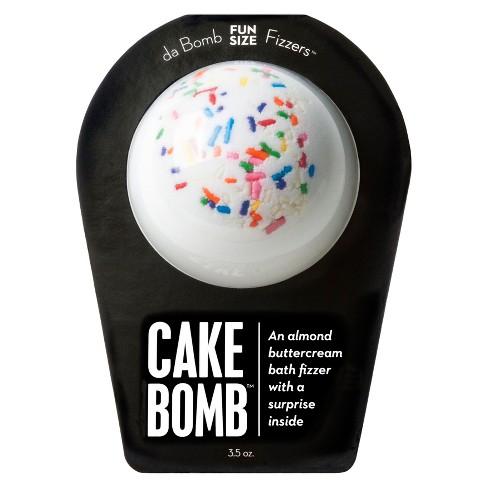 Da Bomb Bath Fizzers Cake Soak Target