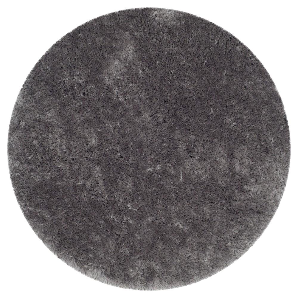 Anwen Accent Rug - Gray (5' Round) - Safavieh