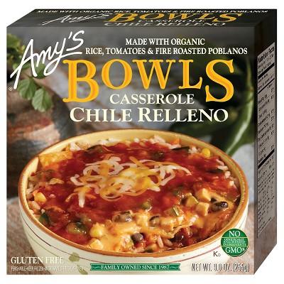 Amy's Frozen Chili Relleno Bowl - 9oz