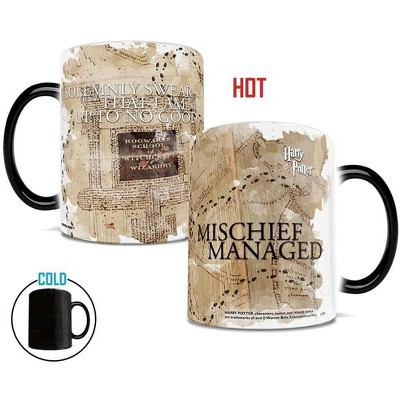 Trend Setters Ltd. Harry Potter Marauder's Map 11oz Morphing Mug by Harry Potter