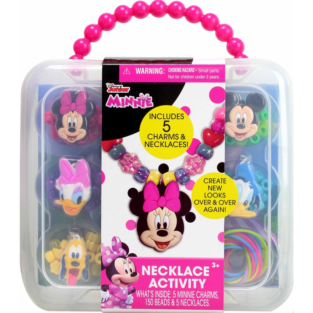 Disney Junior Minnie Mouse Necklace Activity Set