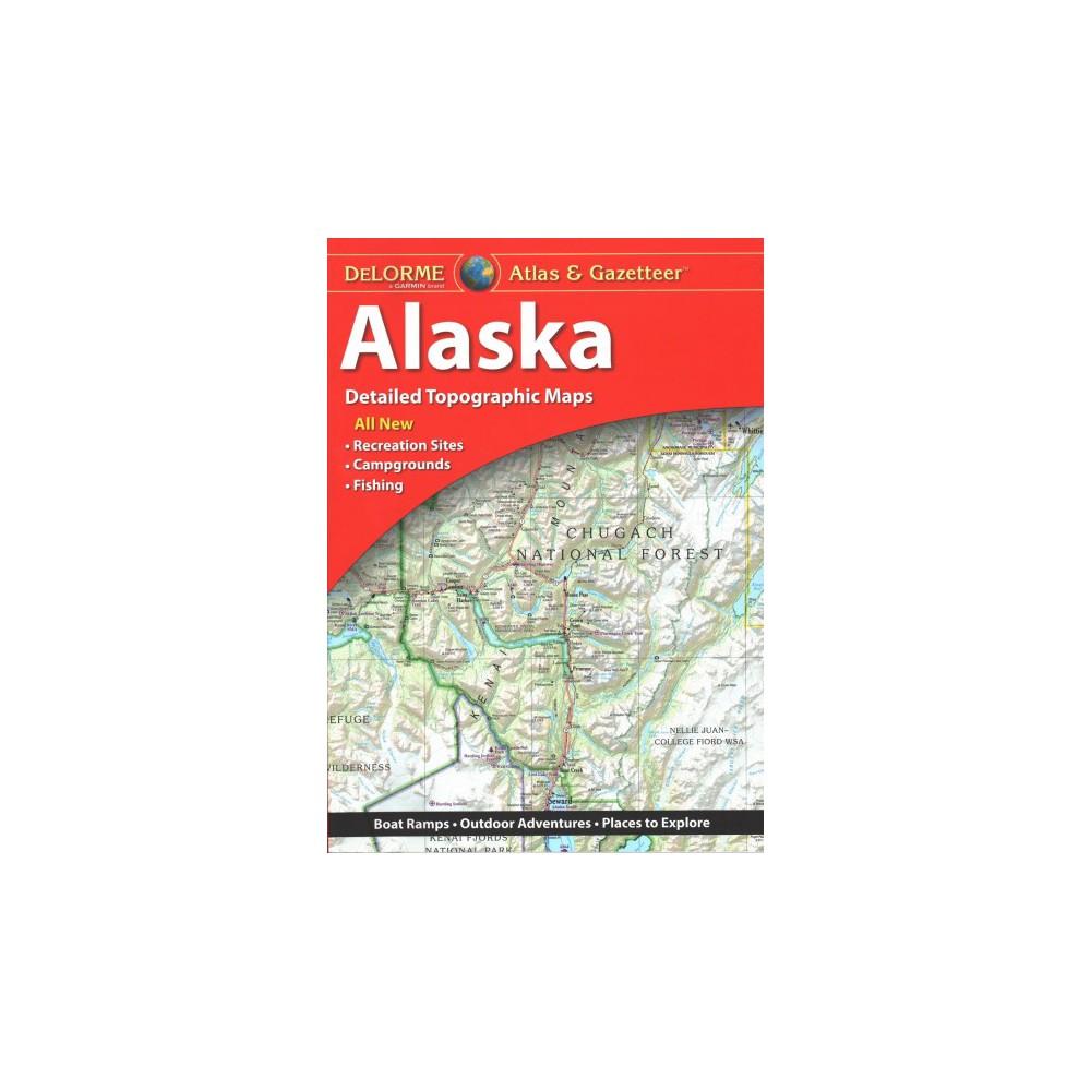 Delorme Atlas & Gazetteer Alaska - 8 (Paperback)