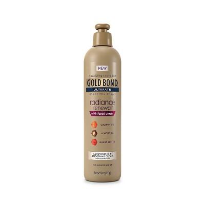 Gold Bond Ultimate Radiance Renewal Oil Infused Cream - 10oz