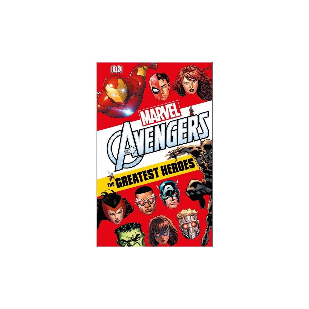 Greatest Heroes - (Marvel Avengers) by Alastair Dougall (Hardcover)