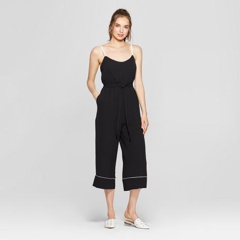 e2759c04e642 Women s Waist Tie Jumpsuit - Lily Star (Juniors )...   Target