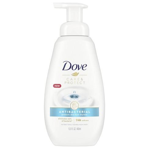 Dove Sensitive Skin Sulfate-Free Shower Foam Body Wash - 13.5 fl oz - image 1 of 4