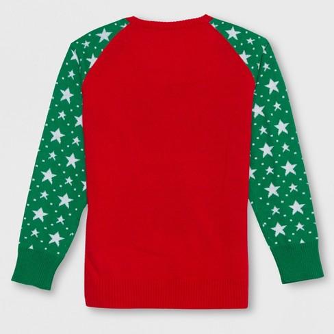 well worn girls magical unicorn christmas sweater redgreen target
