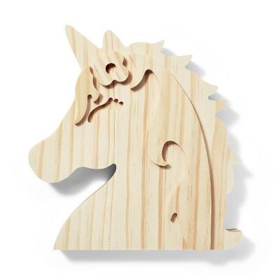 Freestanding Wood Unicorn - Mondo Llama™
