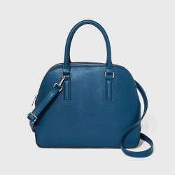 Triple Compartment Dome Satchel Handbag - A New Day™