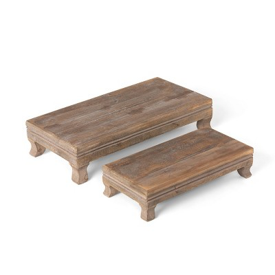 Park Hill Collection Far East Wooden Risers