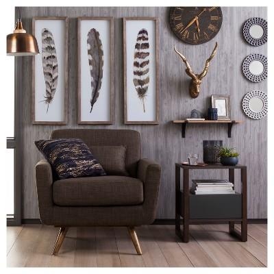 Devine Color Textured Driftwood Peel & Stick Wallpaper ...