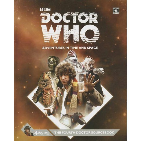 Dr Who 4th Dr Sourcebk - (Hardcover) - image 1 of 1