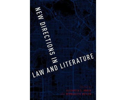 New Directions in Law and Literature -  (Paperback) - image 1 of 1
