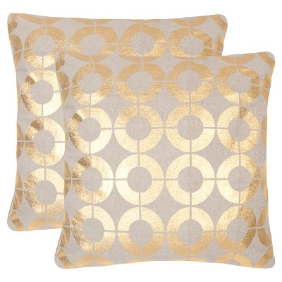 Gold Set Throw Pillow - Safavieh®