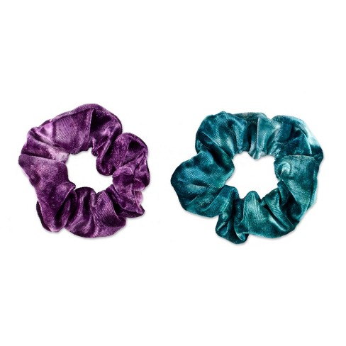 Sincerely Jules by Scunci Galaxy Glitter Scrunchie - 2ct - image 1 of 4