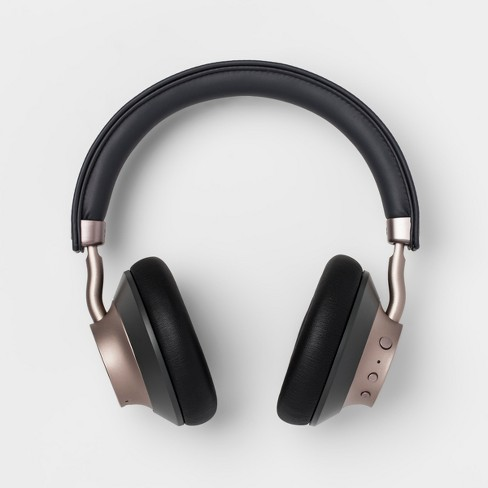 heyday™ Wireless On-Ear Headphones - Gray/Gold