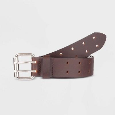 Dickies Men's Roller Buckle Belt - Brown 44