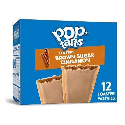 Kellogg's Pop-Tarts Frosted Brown Sugar Cinnamon Pastries - 12ct/20.31oz