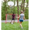 HearthSong - All-in-1 Outdoor Sports Set for Kids: Basketball, Baseball, Lacrosse, & Soccer - image 4 of 4