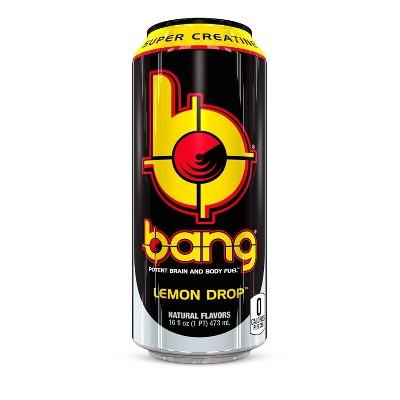 BANG Lemon Drop Energy Drink - 16 fl oz Can