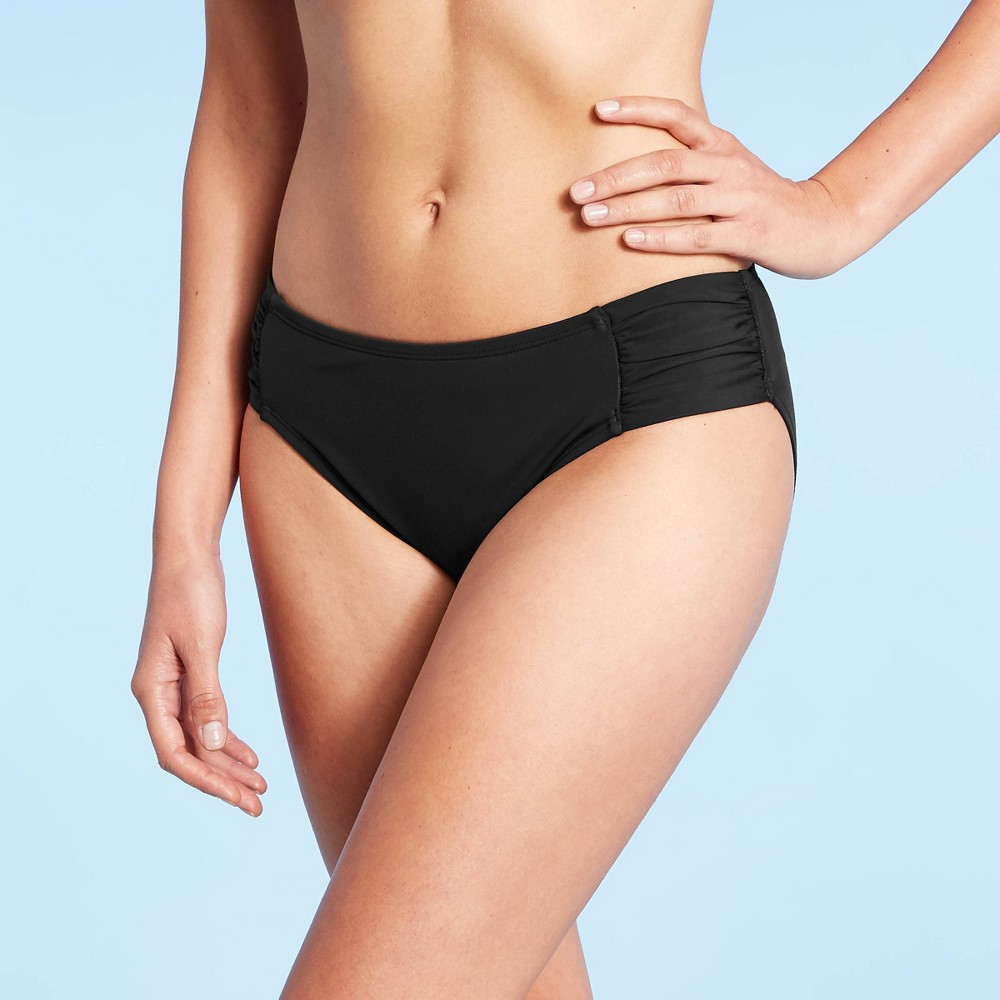 Women 39 S Hipster Bikini Bottom Aqua Green 174 Black S
