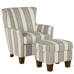 Orgon Accent Chair & Ottoman Set - Dorel Living