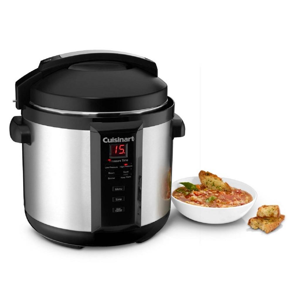 Best Buy Cuisinart Cpc 600 6qt Electric Pressure Cooker Silver