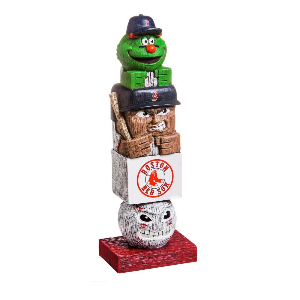 Boston Red Sox Tiki Totem Garden Statue