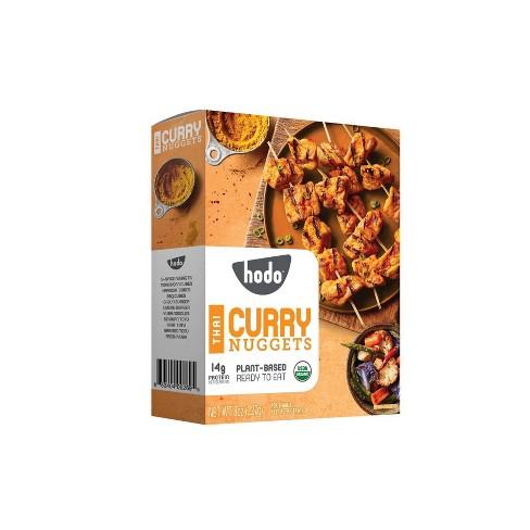 Hodo Plant-Based Organic Vegan Thai Curry Nuggets - 8oz - image 1 of 4