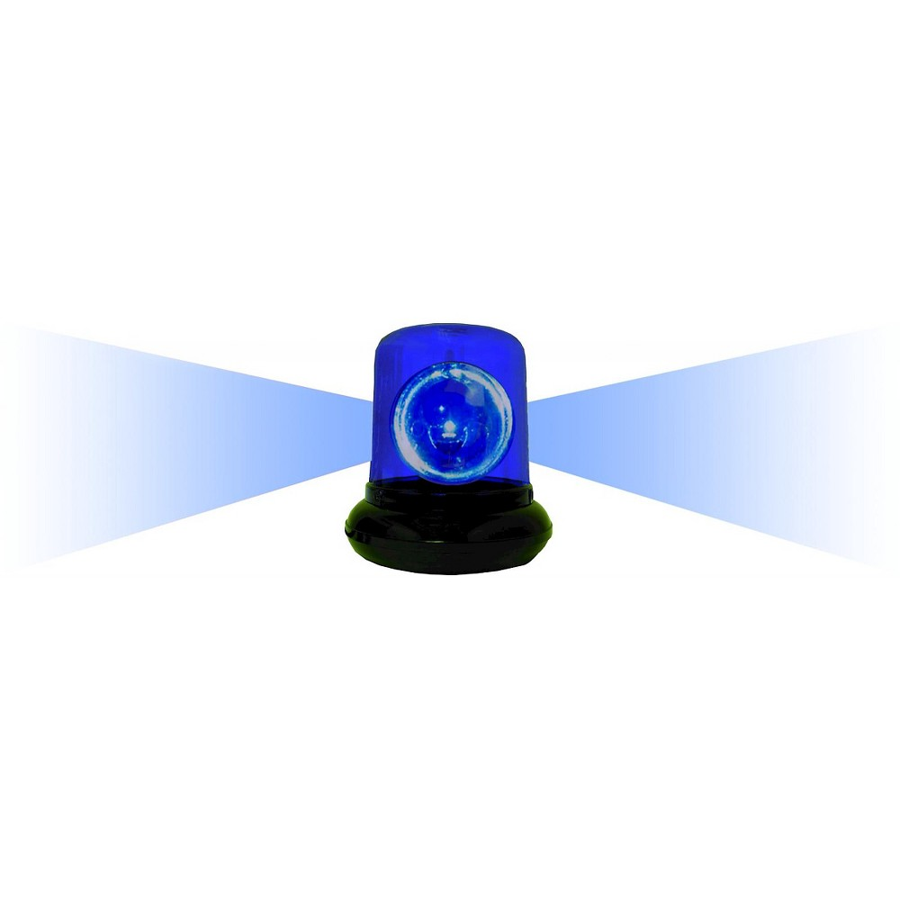 Creative Motions Police Beacon Light - Blue, Blue/Black