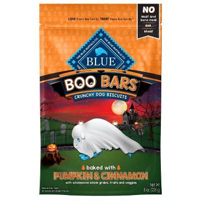 Blue Buffalo Pumpkin & Cinnamon Boo Bars Dog Treats - 8oz