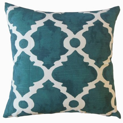 Madrid Pattern Square Throw Pillow - Pillow Collection