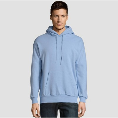 1 Navy Hanes Mens EcoSmart Hooded Sweatshirt Small 1 Light Blue
