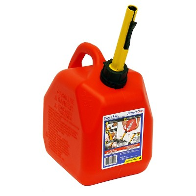 Spill-Proof Gasoline Can, 2-gal.