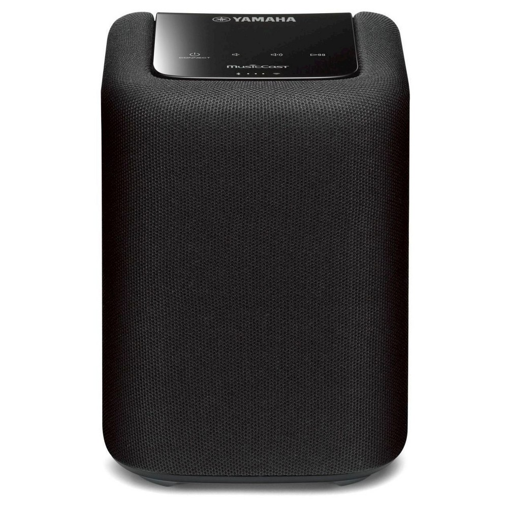 MusicCast Wireless Speaker (Black) Get the right music for right occasion with the Yamaha WX-010 MusicCast Wireless Speaker. This speaker lets you stream music wirelessly using your existing Wi-Fi network. Use it as a stand-alone streaming music speaker or add other MusicCast speaker for paired stereo sound. Powerful sound with control at your fingertips. This stylish, space-saving design that fits anywhere in your home. Color: Black.
