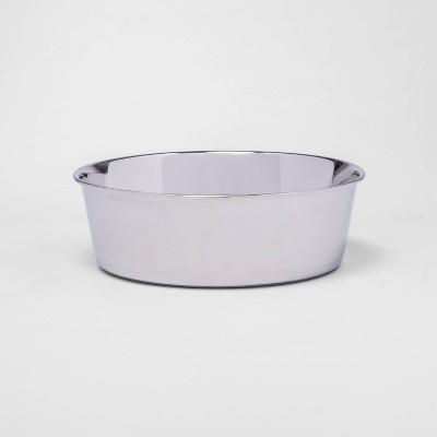 Non-Skid Stainless Steel Dog Bowl - 12 cups - Boots & Barkley™