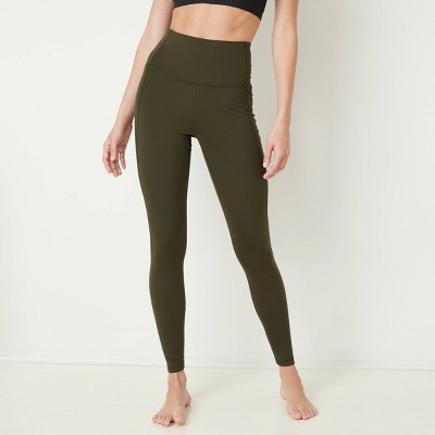 Women's Contour Power Waist High-Waisted Leggings with Stash Pocket - All in Motion™