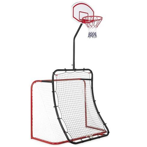 HearthSong - All-in-1 Outdoor Sports Set for Kids: Basketball, Baseball, Lacrosse, & Soccer - image 1 of 4