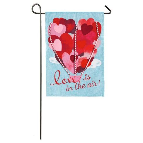 Valentine S Day Love Is In The Air Garden Burlap Target