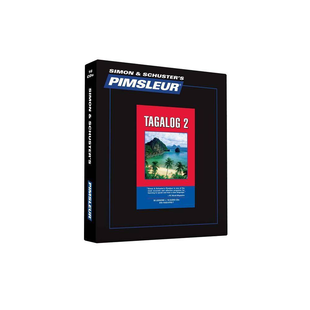 Pimsleur Tagalog Level 2 CD - (Comprehensive) 3(AudioCD)