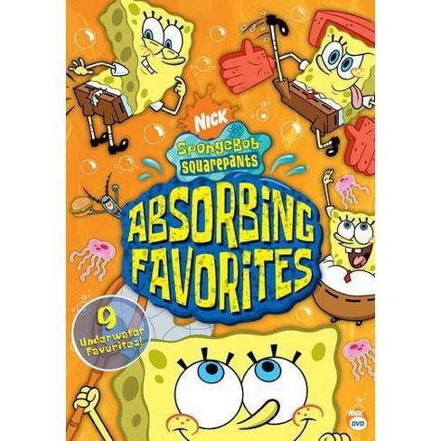 Spongebob Squarepants: Absorbing Favorites (DVD) - image 1 of 1