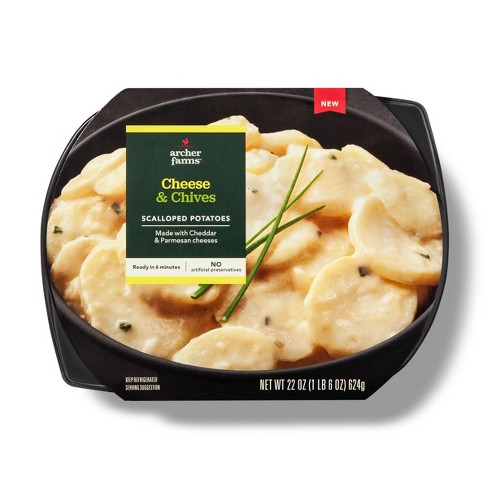 Cheese & Chives Scalloped Potatoes 22oz - Archer Farms™ - image 1 of 1