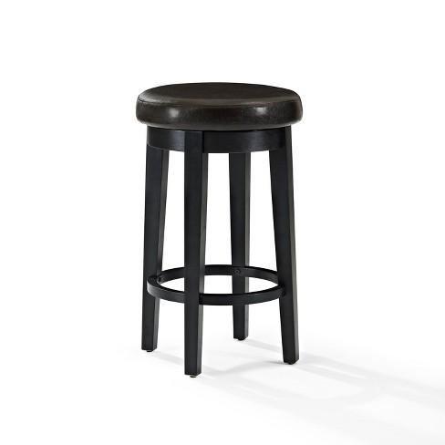 Fantastic Crosley Set Of 2 Mitchell Swivel Counter Stool Machost Co Dining Chair Design Ideas Machostcouk