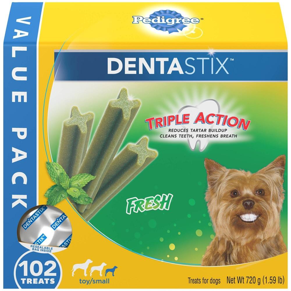 Pedigree Dentastix Fresh Adult Treats For Dogs 102ct
