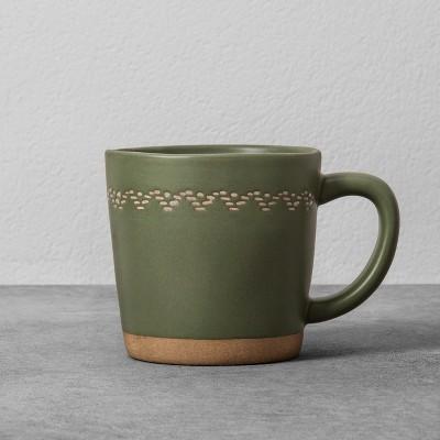 Stoneware Mug 14oz - Green - Hearth & Hand™ with Magnolia