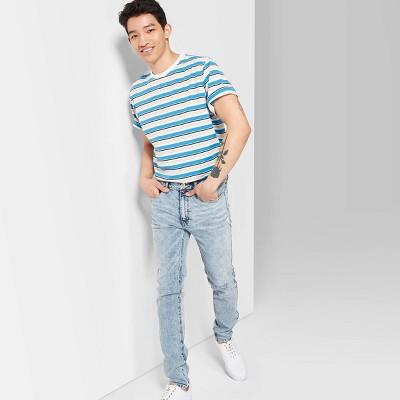 Men's Slim Fit Mid Rise Jeans   Original Use Indigo by Rise Jeans