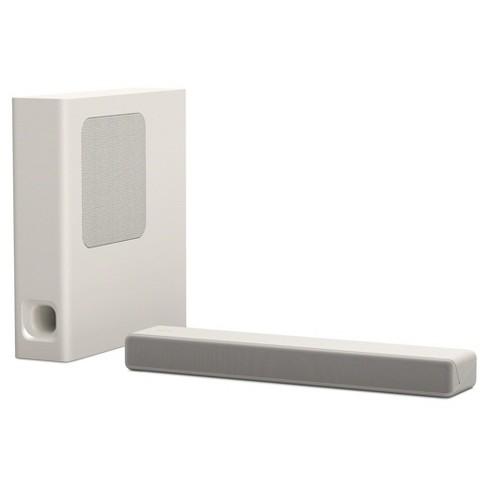 sony 2 1 mini sound bar with wireless subwoofer white htmt300 w