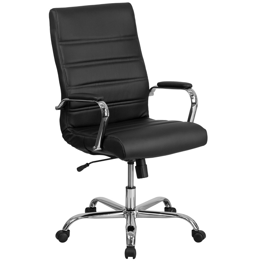 High Back Executive Chair Black - Riverstone Furniture Collection